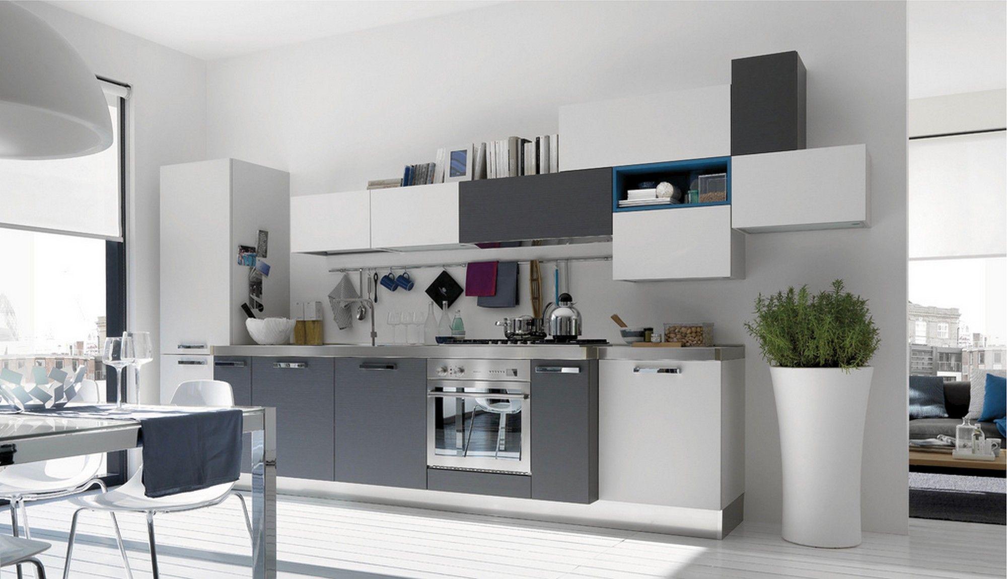 Ideen für die küche in farbe moderne küche farbe kombinationen  moderne küchefarbe