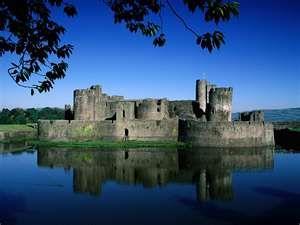 The castle lake