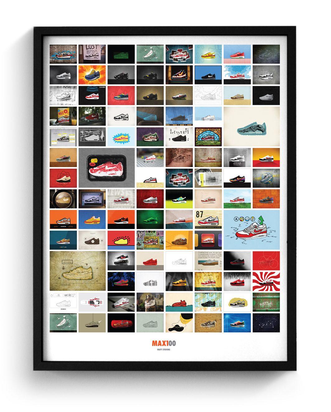 MAX100 - Grid Poster
