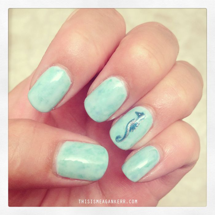 Nails Seahorse Nail Designs Do It Yourself Beautiful Art Picture