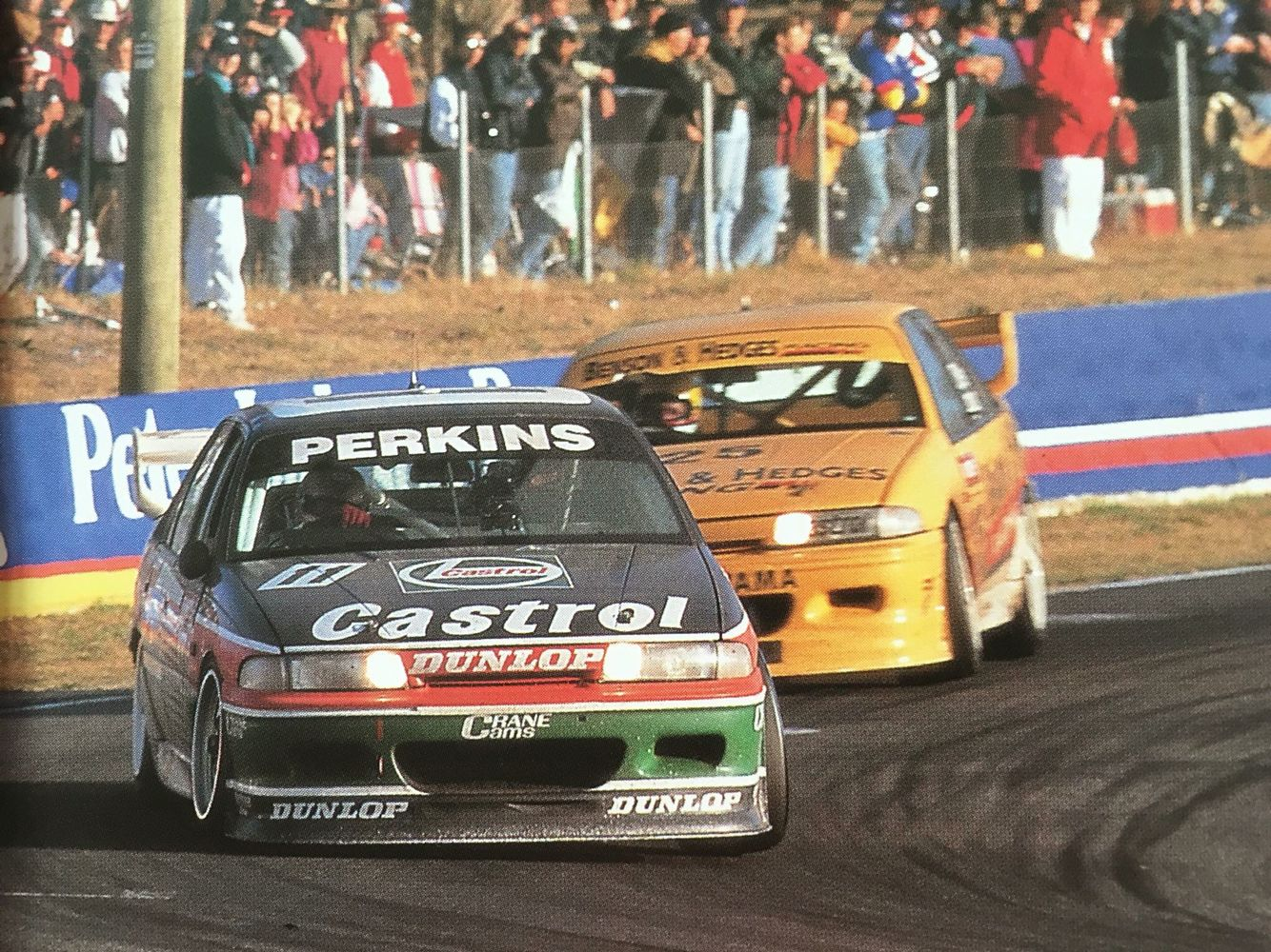 Perkins Motorsport - Larry Perkins 1993 | V8 Supercars | Pinterest ...