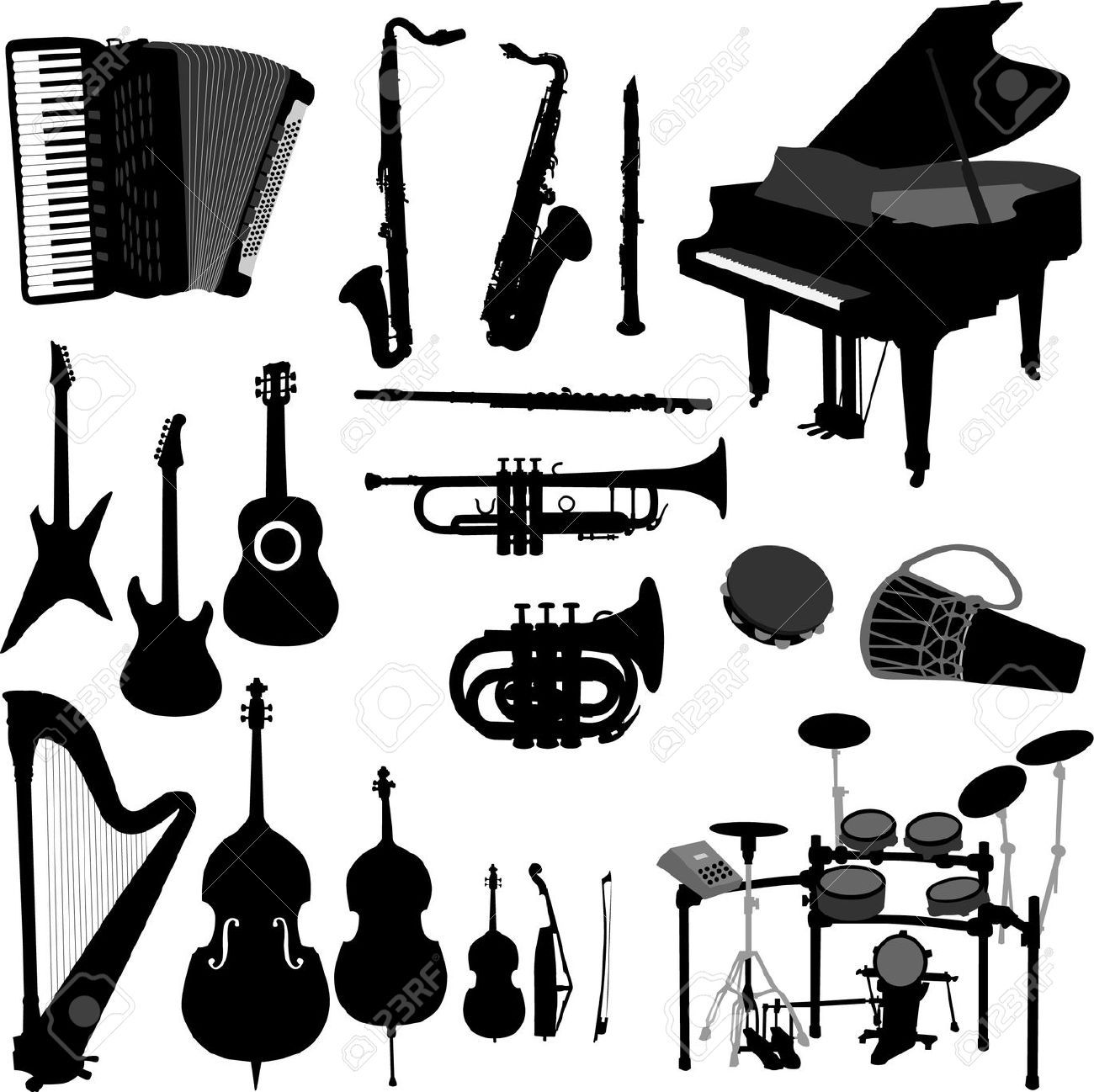 jazz music instruments
