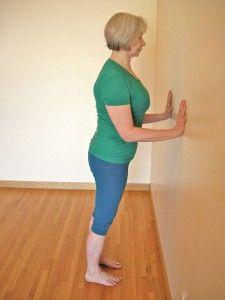 fiveminute yoga challenge meet chaturanga at the wall