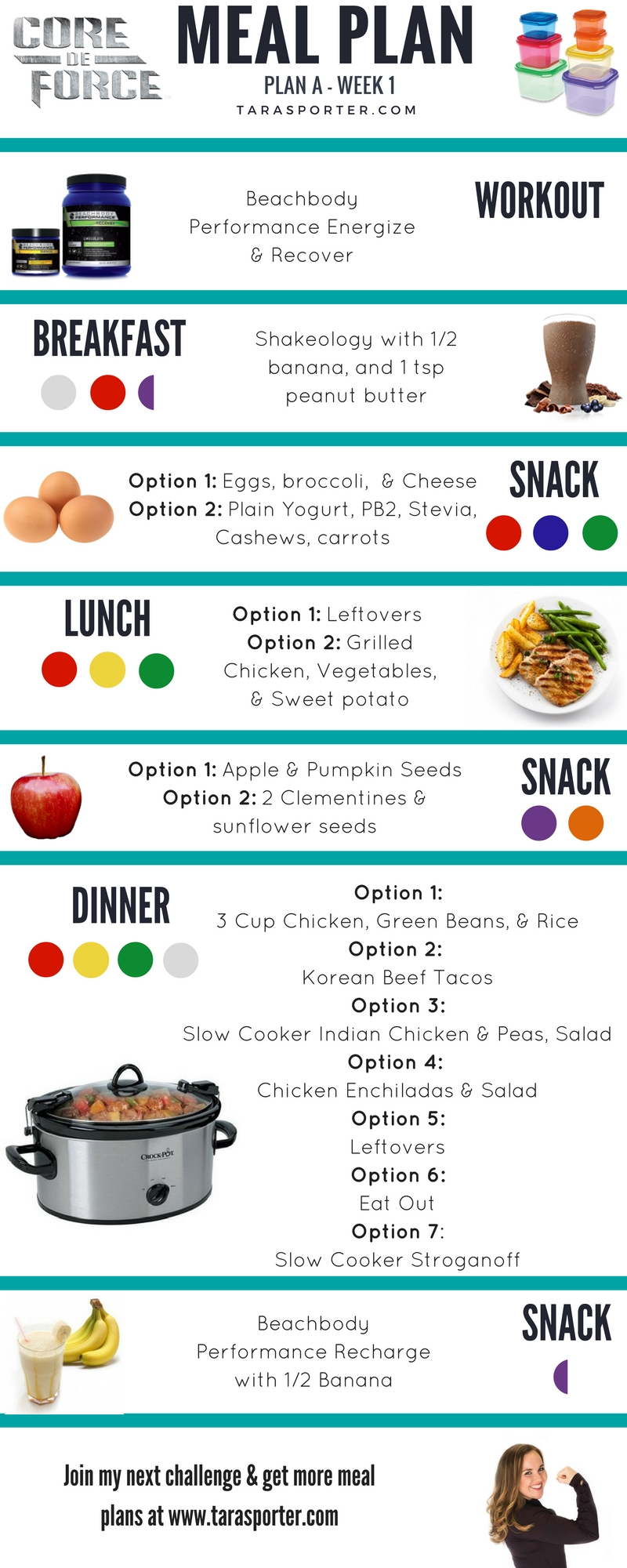 Core De Force Meal Plan Week 1 Weightlossbeforeandafter 21 Day Fix Meals 21 Day Fix Meal Plan Beachbody Meal Plan