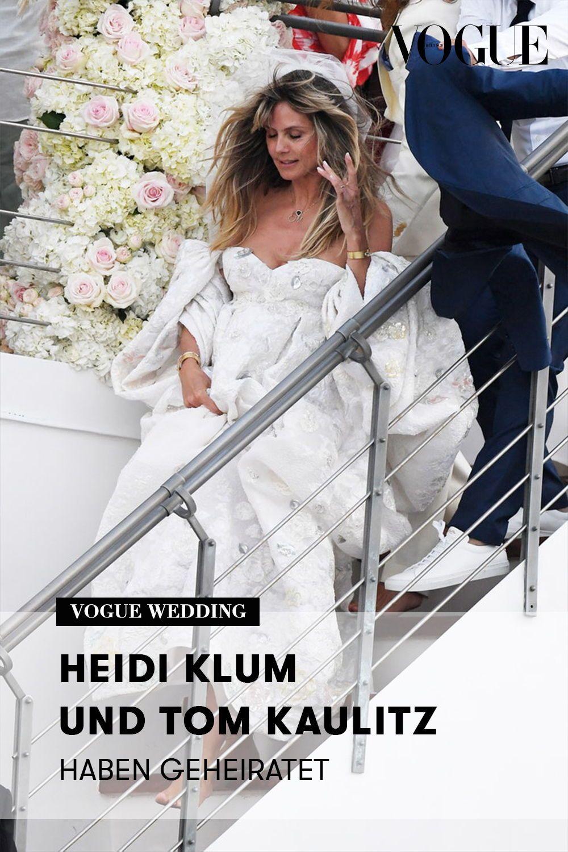 Hochzeit Heidi Klum Und Tom Kaulitz Sind Verheiratet Klum Heidi Klum Tom Kaulitz