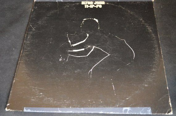 Vintage Vinyl Record Elton John 11 17 70 Album 93105 Vintage Vinyl Records Vinyl Records Album