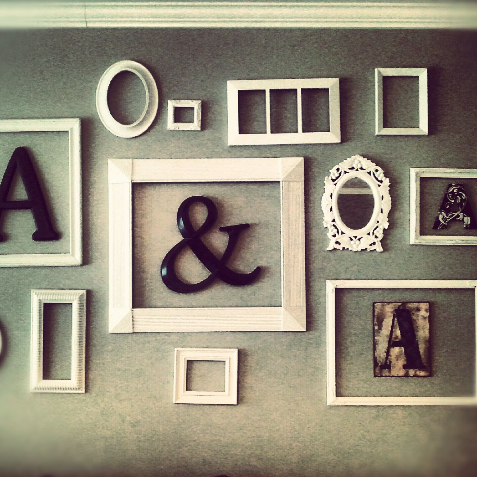 DIY Frame Collage Homemade Daydream Pinterest