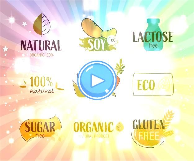 label and fresh organic banner a  Premium VectorNatural label and fresh organic banner a  Premium Vector Art Print Vector Illustration of Agriculture and Farming Icons by...