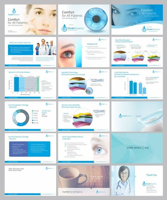 powerpoint template for innovative medical device company by