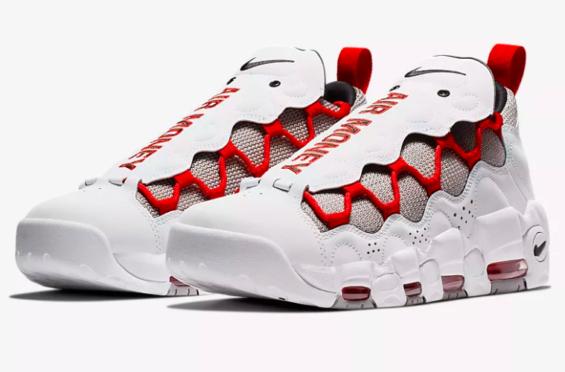 low priced b2392 03bd8 Now Available Nike Air More Money Habanero Habanero Habanero rosso Scarpe  Pinterest 5e5452