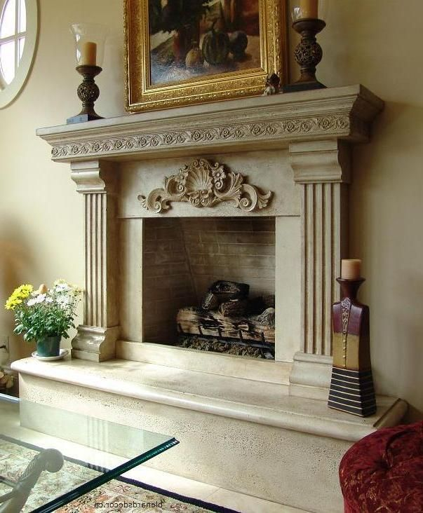 Beautiful Details Enhance This Mantel Heat Up Your