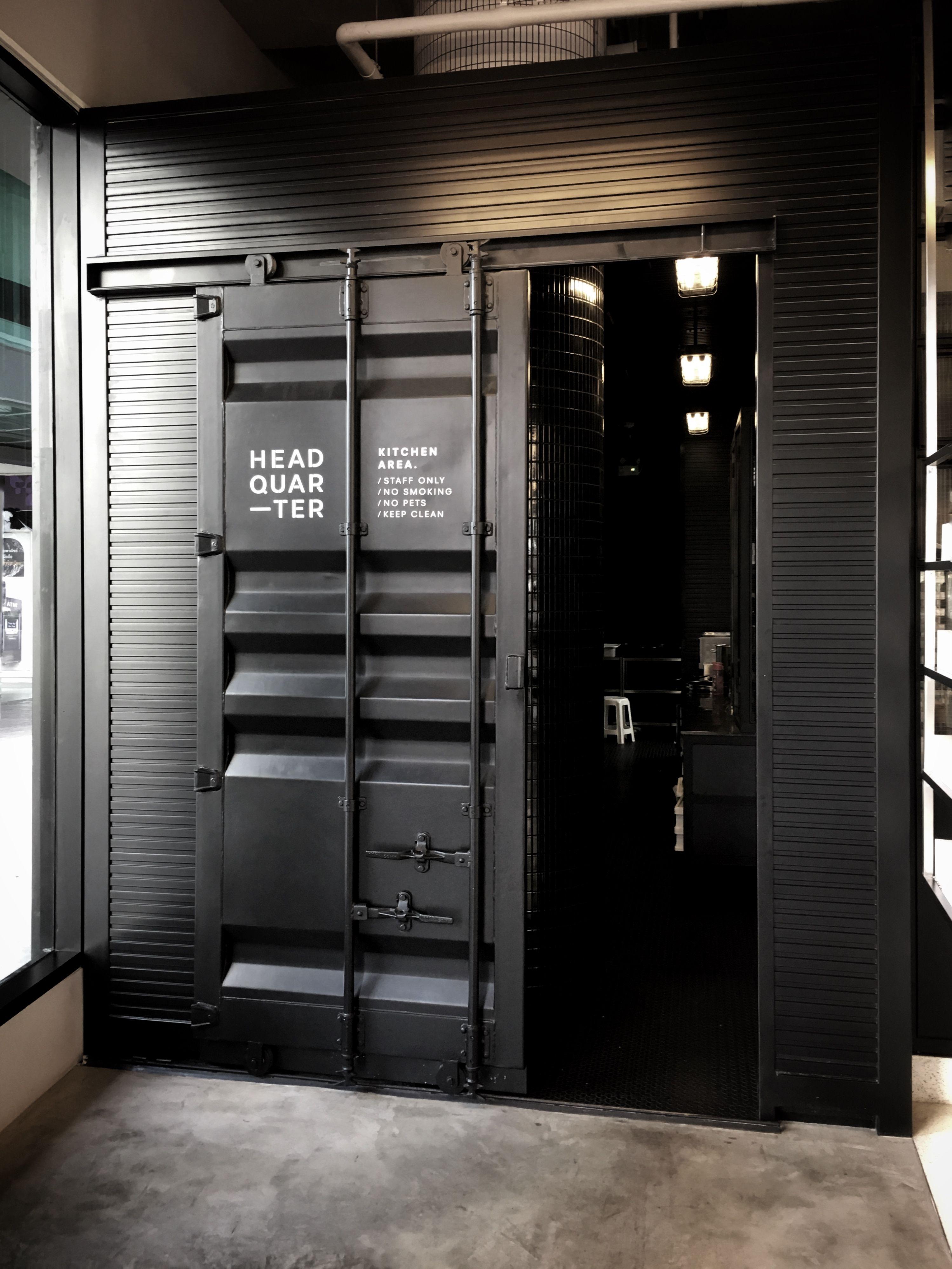 Sliding Door Office Interior Design Corporate Office Design Container House