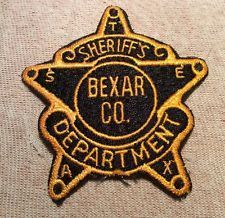 Bexar County TX SO (obsolete patch) | Texas Sheriff's Office