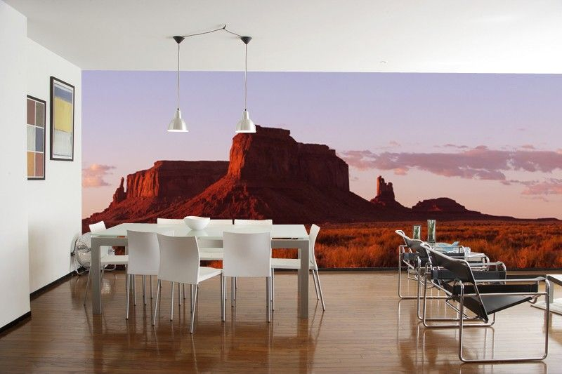 Panorama of Monument Valley Wall Mural Wall murals