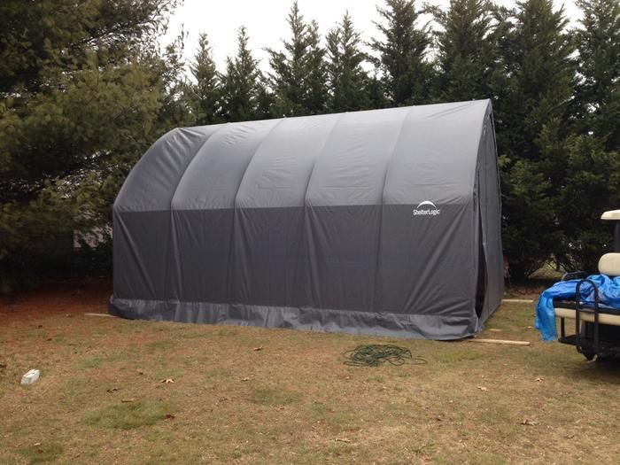ShelterLogic Garage-in-a-Box for SUV/Truck Instant Shelter ...