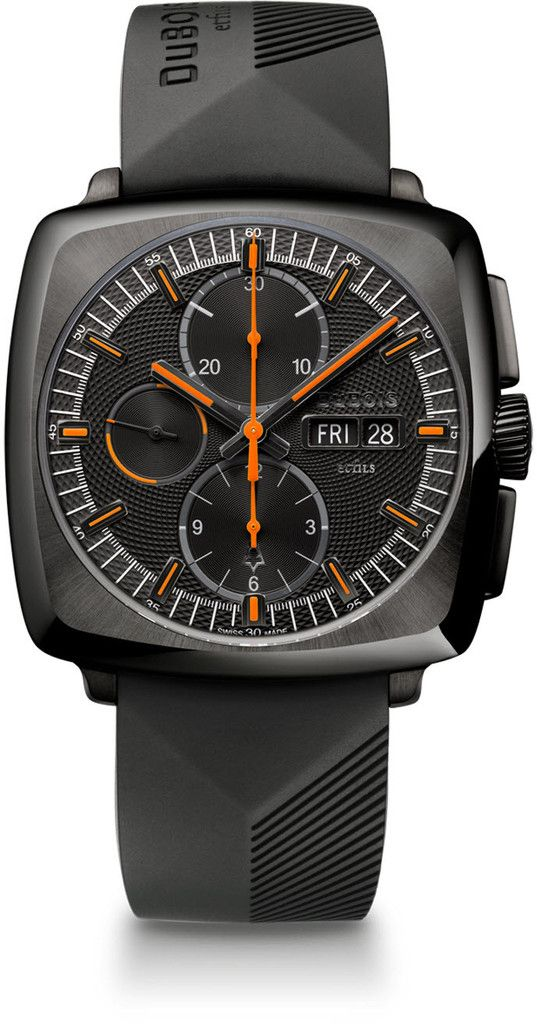 Edition Fils dubois et fils dbf002 03 chronograph limited edition bezel