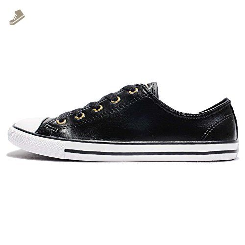 Converse Women S Chuck Taylor All Star Dainty Black White 7 5 Us