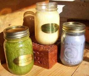 Aromatherapy Jar Candles