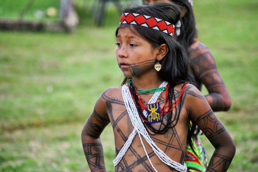 Tribal girls topless images