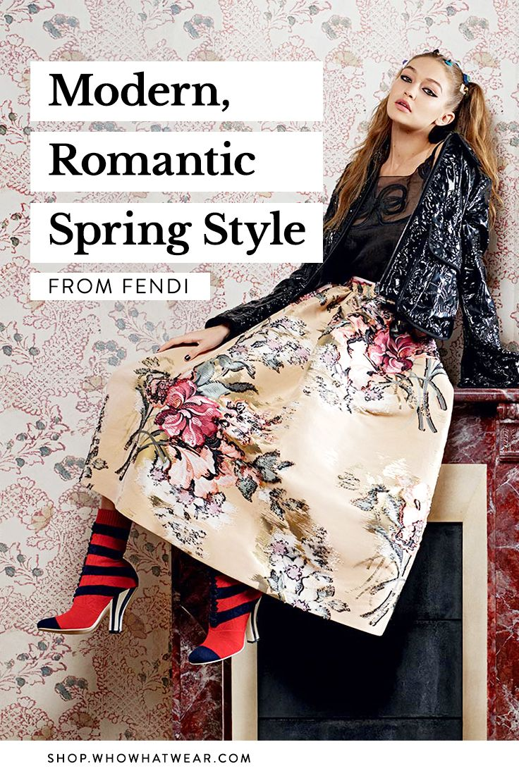 Step into a fashion fairytale this season, and shop our favorite picks from Fendi's S/S 17 collection. Think regal flourishes and French-inspired florals intermingled with modern, sporty details.