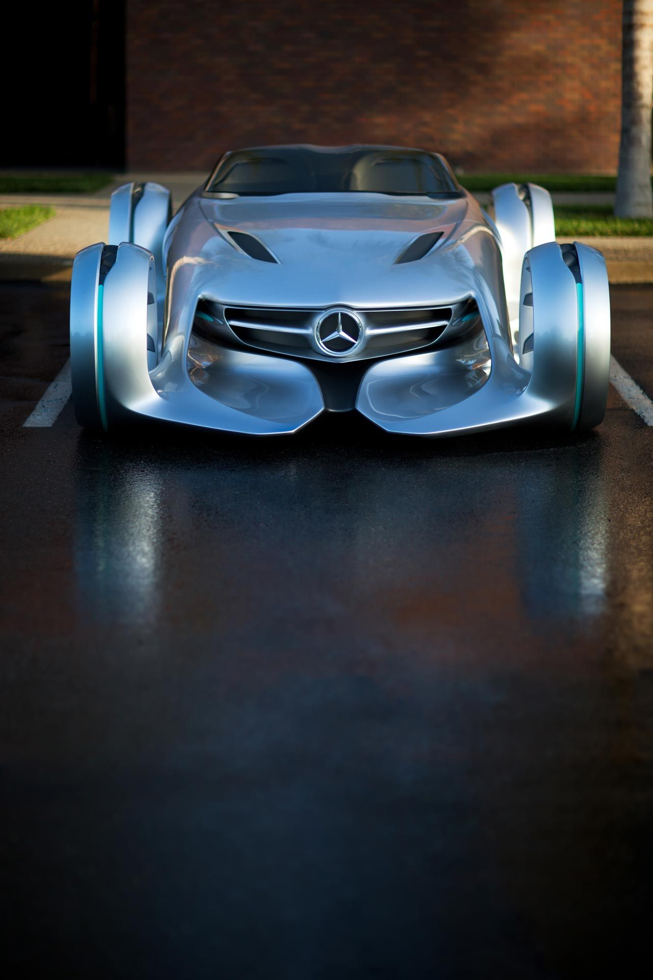 Mercedes Benz Silver Lightning Concept We Re Living In The