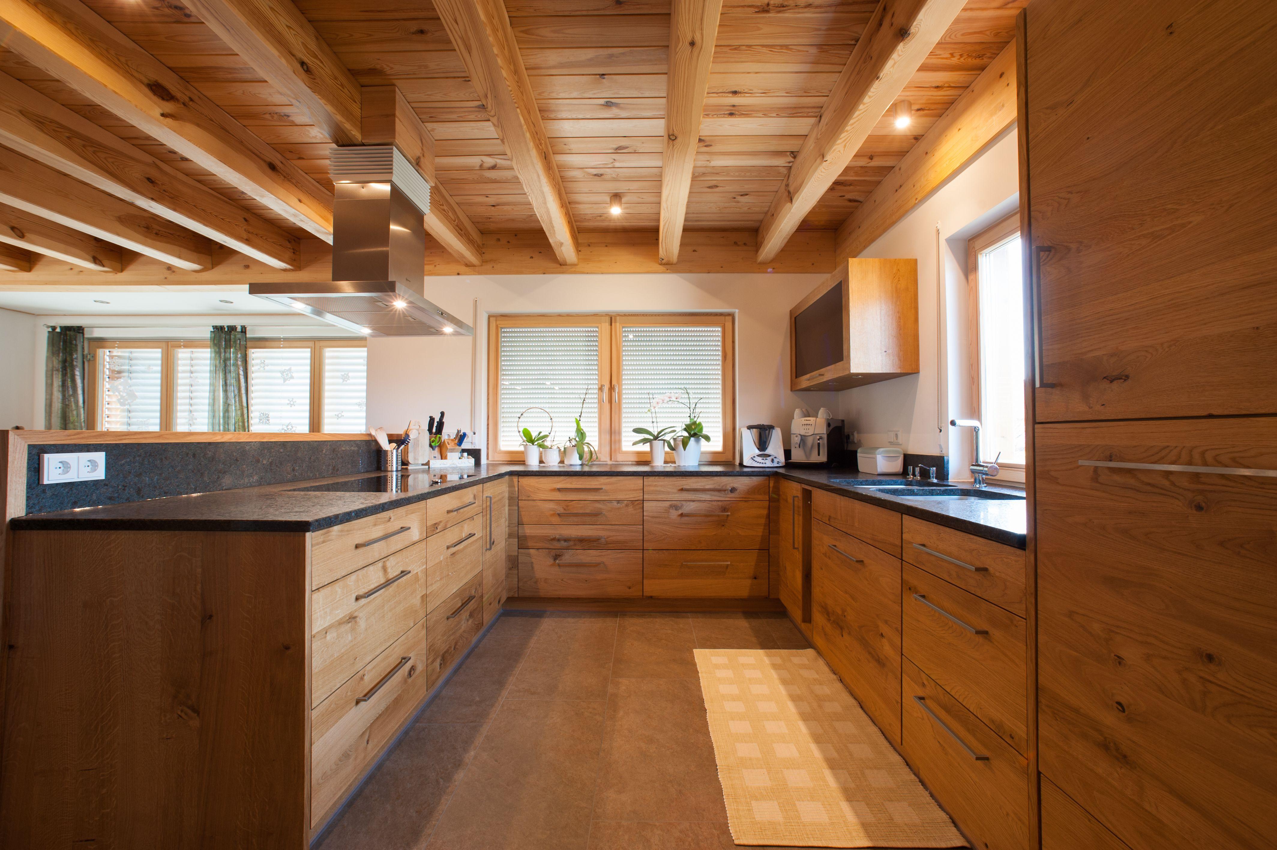 Küche In Eiche Wild Haus Küchen Holzküche Küchendesign