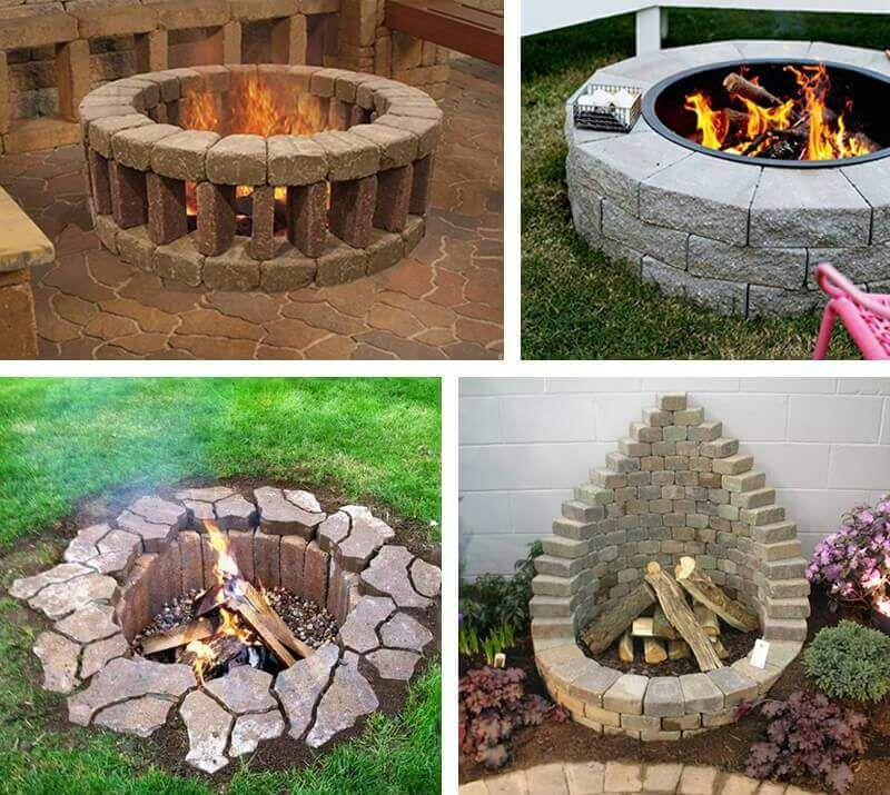 27 Inspiring Diy Fire Pit Ideas To Improve Your Backyard Outside Pits