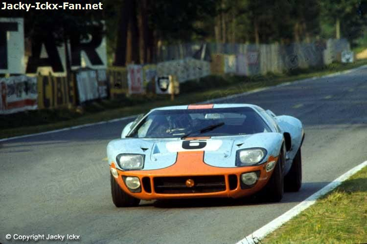6 Ford Gt40 1075 J W Automotive Engineering Ltd Le Mans 1969 Ford Gt40 Ford Racing Ford Gt