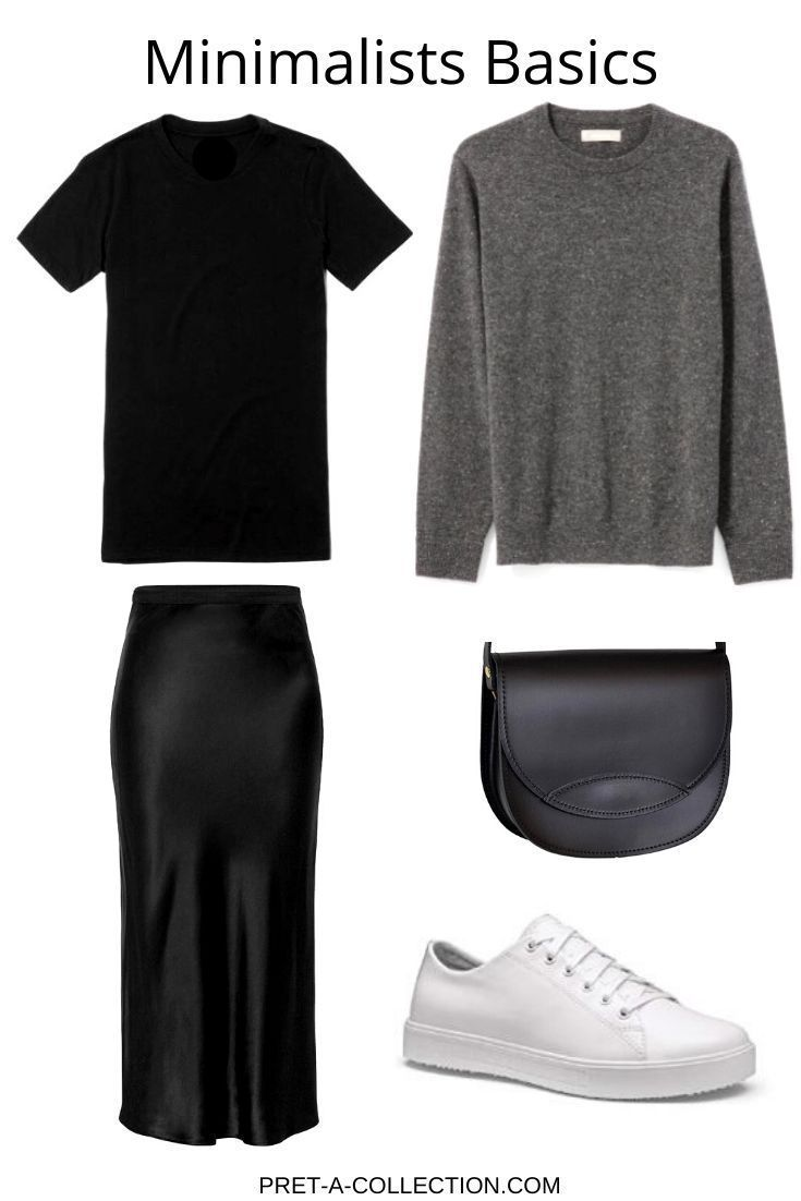 Add only basics to your wardrobe and you have always something to wear #minimalc…