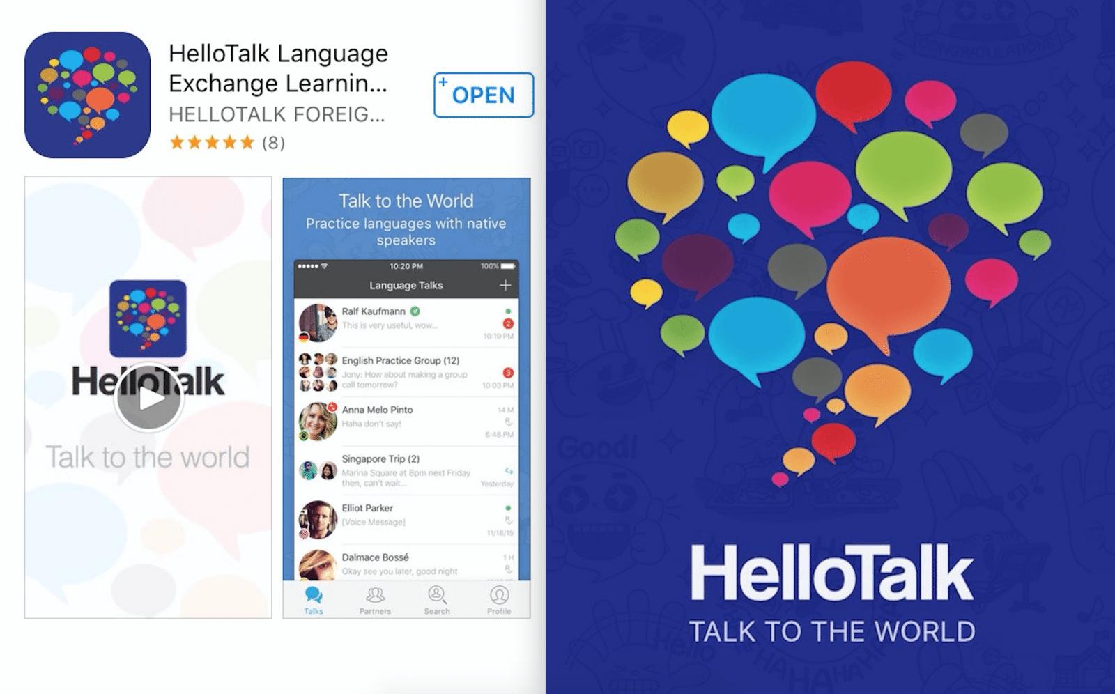korean learning app hello talk Korean learning apps