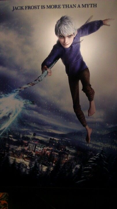 "Jack Frost (Chris Pine) the spirit of winter, from ""Rise of the Guardians"""