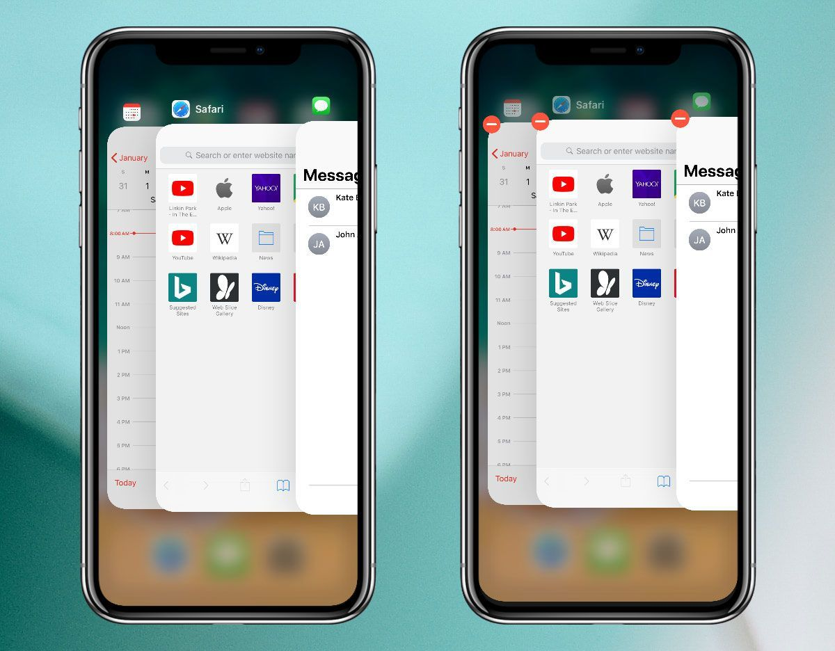 How to quit apps on iphone x iphone app quites
