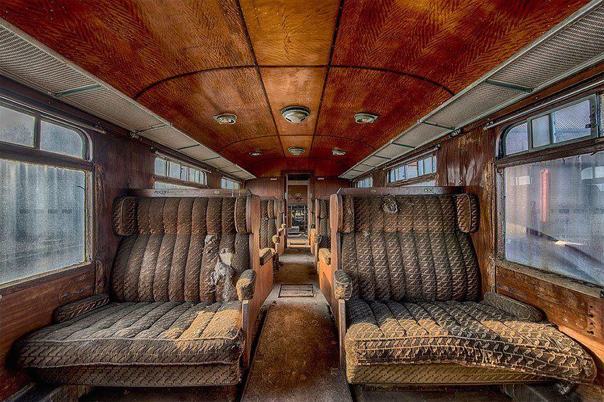 O Grand Orient Express é apenas uma das descobertas impressionantes do explorador urbano e fotógrafo.