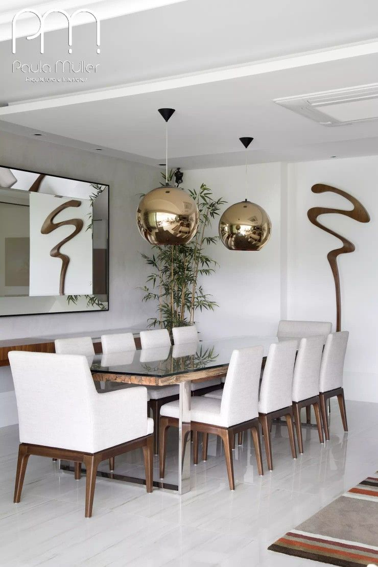 Pin by Dulce Deyllot on salas Sala de jantar, Sala de jantar moderna, Decoraç u00e3o sala amarela -> Decoraçao De Sala De Jantar Moderna