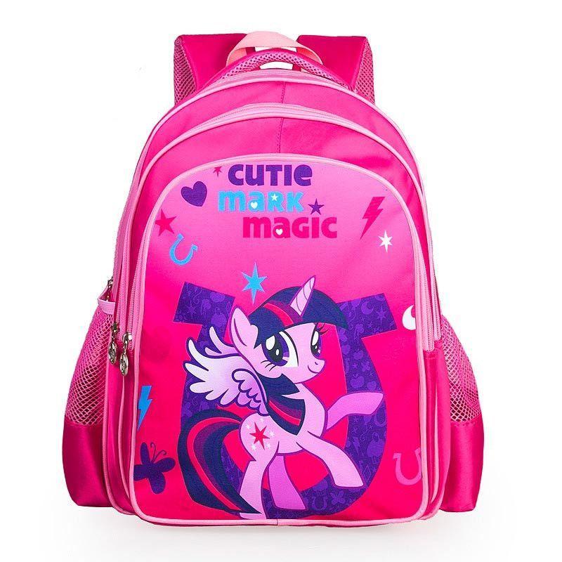 df9f5bf26a9 new fashion cartoon backpacks for teenagers girls my little pony backpack  kids school bags cute boy pony horse bag child mochila