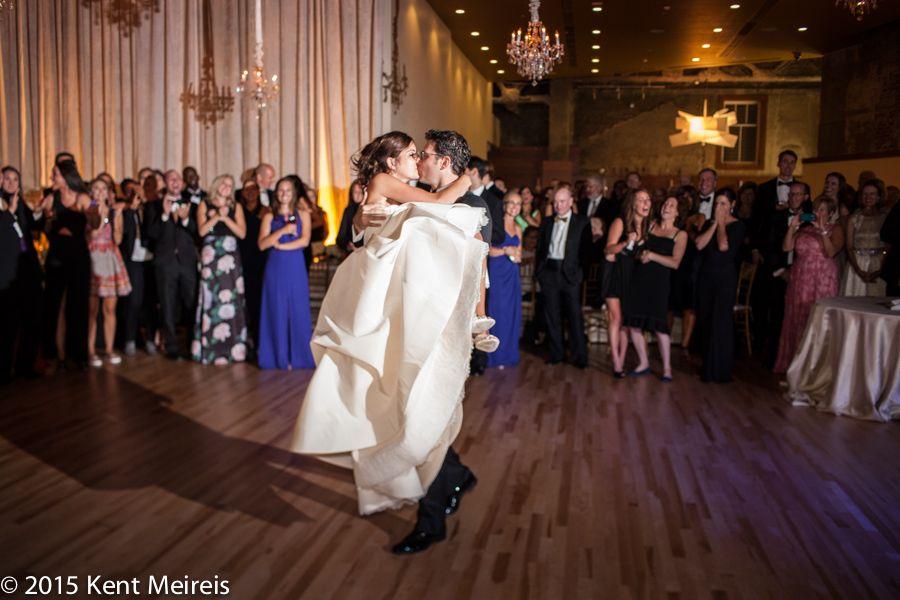 Jewish Wedding Reception Denver Colorado First Dance Picture