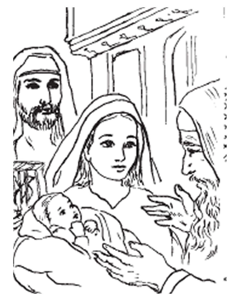 Vida de san José VI - La Presentación del Niño en el Templo | San ...