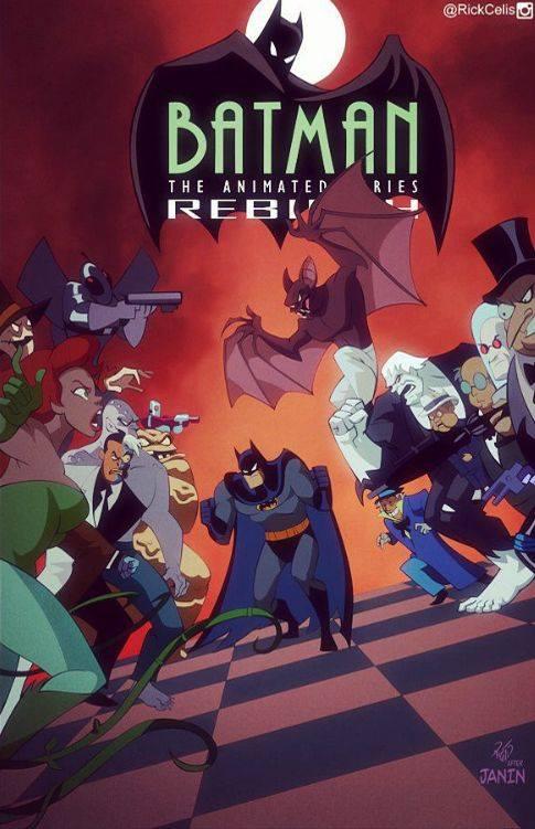 Batman Rebirth 29 Btas Style By Rickcelis On Deviantart Batman Batman The Animated Series Batman Art