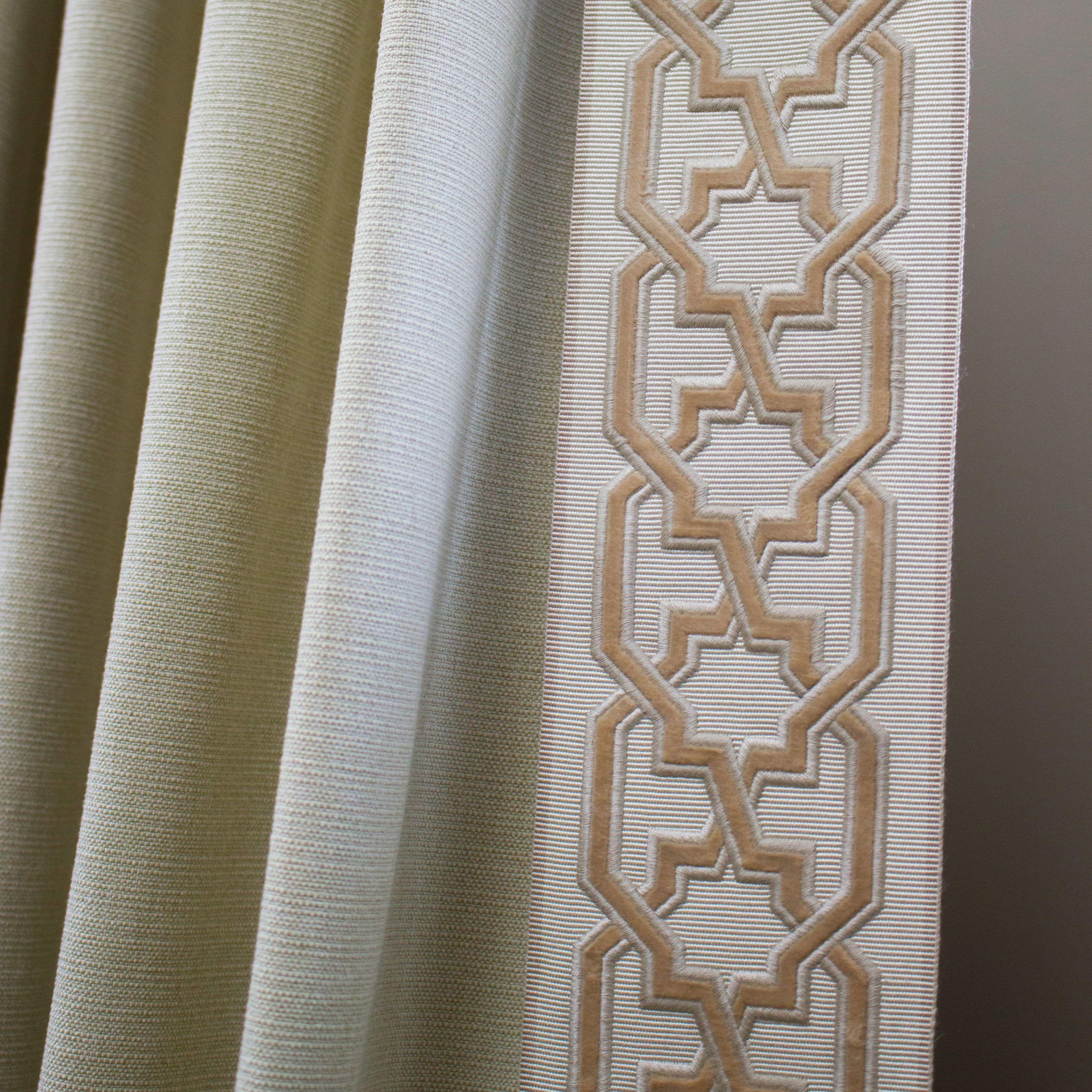 Drapery Panels, Decorative Trim
