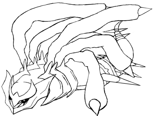 Pokemon Coloring Pages Arceus