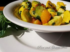 Poor and Gluten Free (with Oral Allergy Syndrome): Sauteed Patty Pan Squash