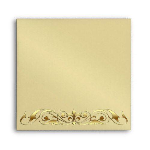 grand duchess gold metal scroll envelope pinterest envelopes