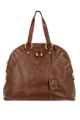 YSL - Muse Brown Leather Bag  Find it at starbags.eu