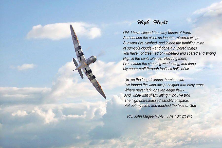 """John Gillespie Magee's """"High Flight"""""""