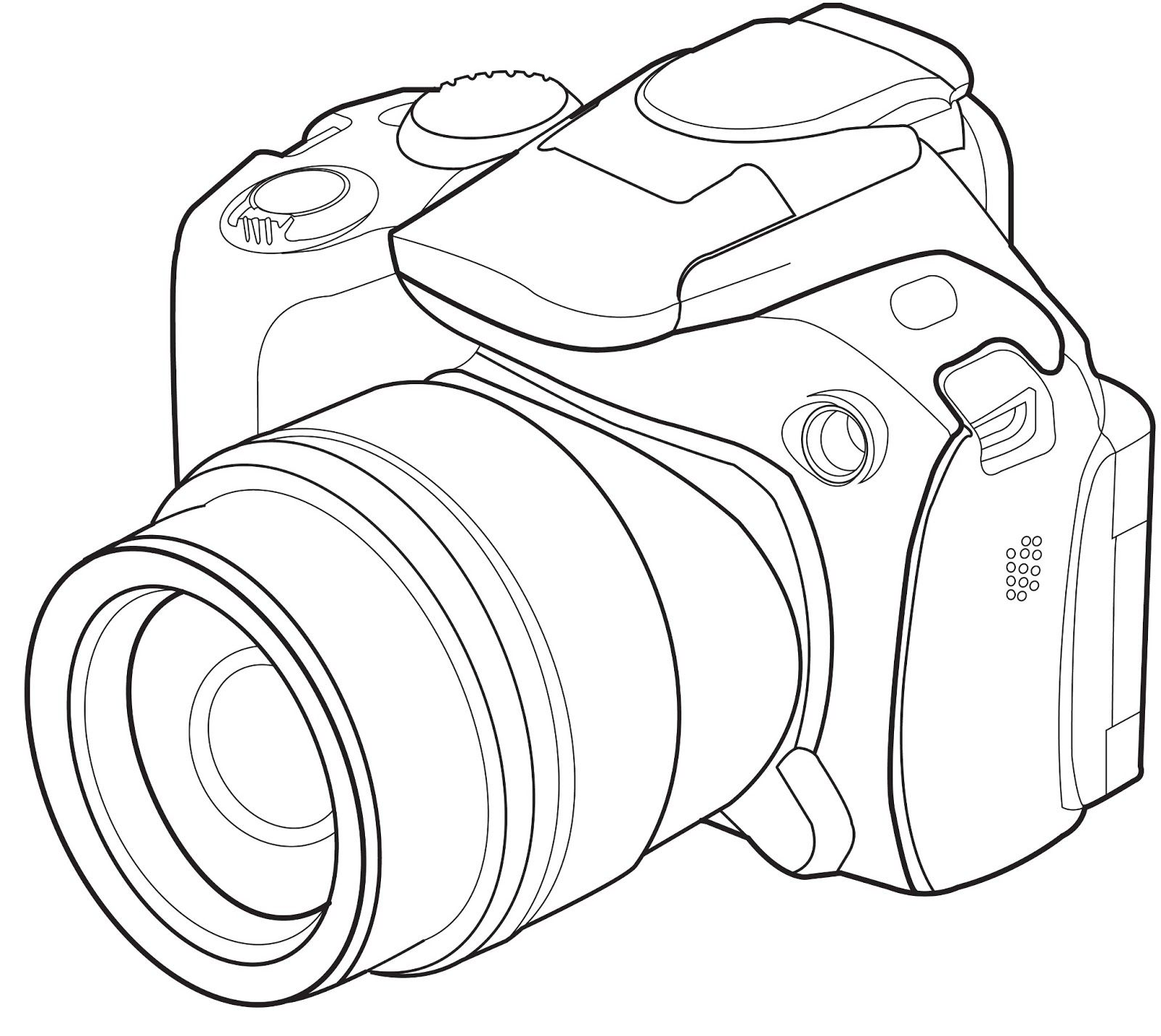 Line Drawing Camera : Image result for camera lsr line drawing nikon dslr