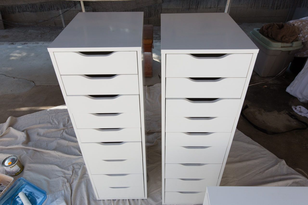 Upcycled Alex Drawers Ikea Hack In 2020 Alex Drawer Ikea Hack Drawers