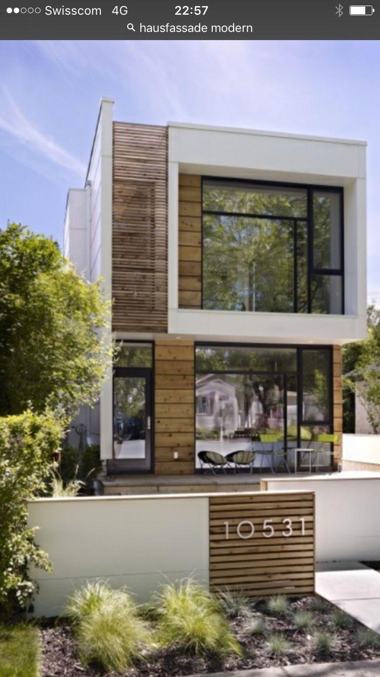 Elegant Hausfassade Modern Sammlung Von