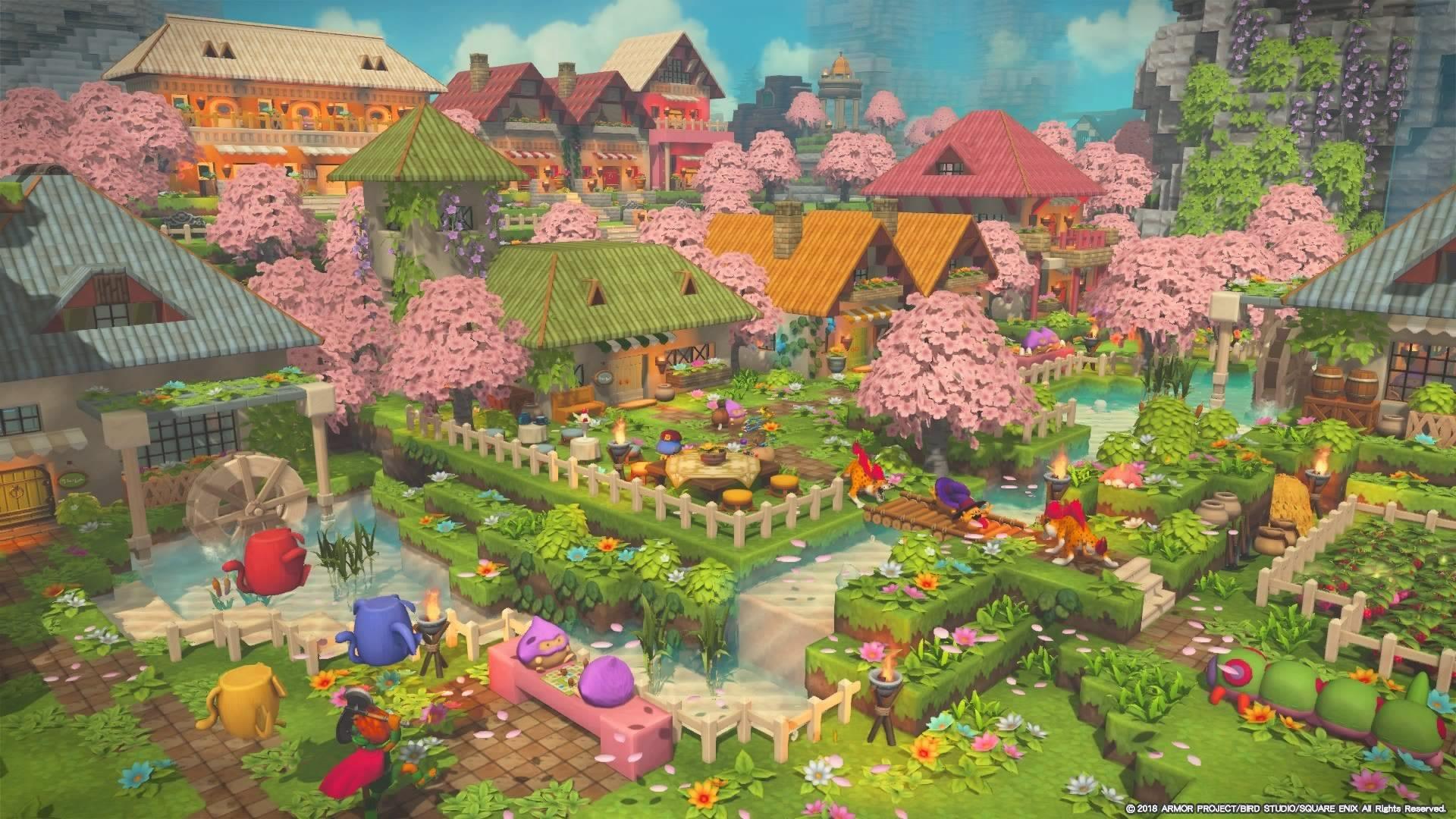 ビルダーズギャラリー ドラゴンクエストビルダーズ2 Square Enix どうぶつの森 マインクラフトの家 ビルダーズ