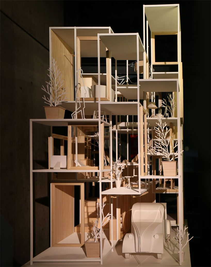 sou fujimoto between nature and architecture ga gallery designboom 11 lilongs pinterest. Black Bedroom Furniture Sets. Home Design Ideas