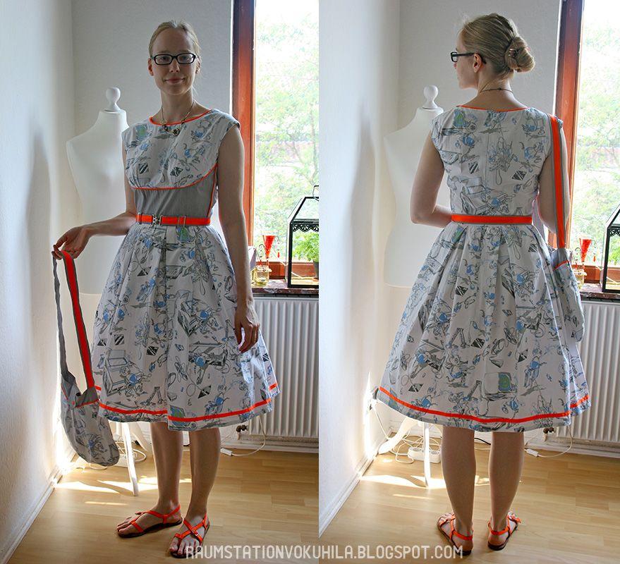 Raumstation Vokuhila, Blog, DIY, Sewing, 1959, Burda, Pattern ...